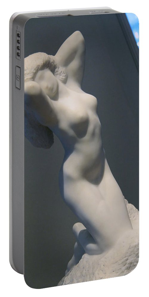 Morning Portable Battery Charger featuring the photograph Rodin's Morning by Cora Wandel