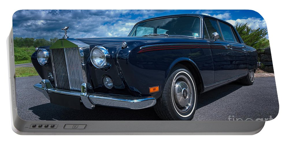 Rolls Royce Portable Battery Charger featuring the photograph Rolls Royce by David B Kawchak Custom Classic Photography