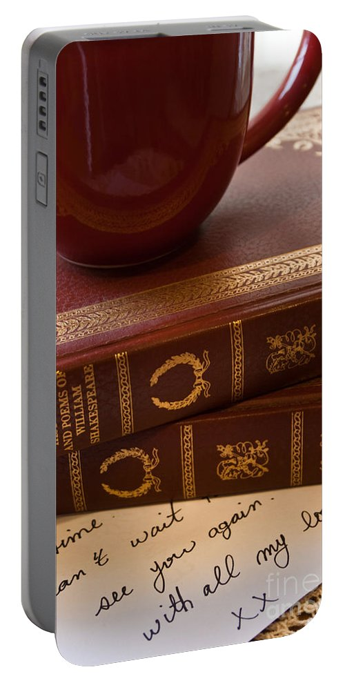 Romantic Portable Battery Charger featuring the photograph Romance Series 2 by Robin Lynne Schwind