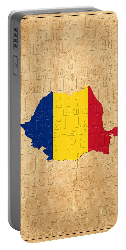 Romania Portable Battery Charger featuring the photograph Romania by Andrew Fare