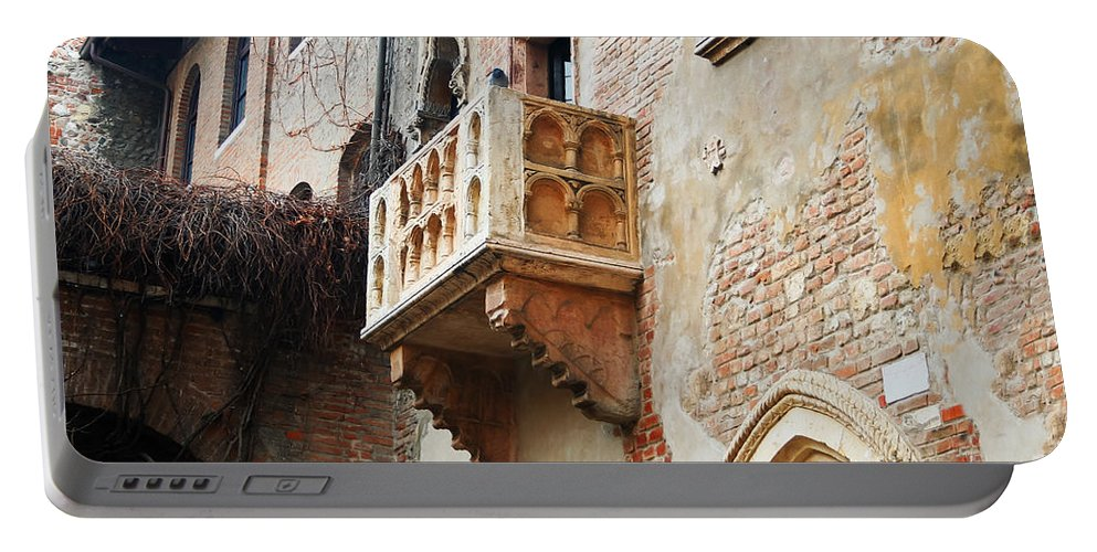 Travel Portable Battery Charger featuring the photograph Romeo And Juliet by Elvis Vaughn
