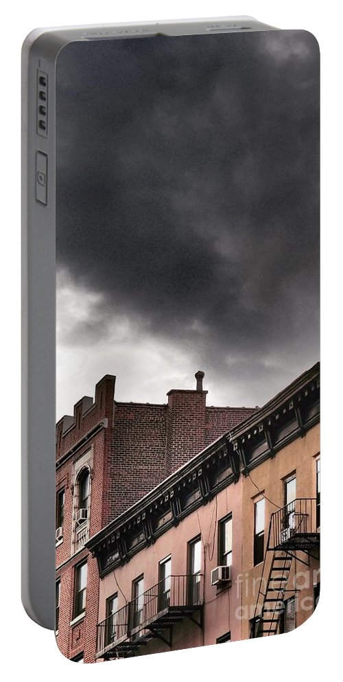 Rooftop Portable Battery Charger featuring the photograph Rooftops Of New York by Miriam Danar