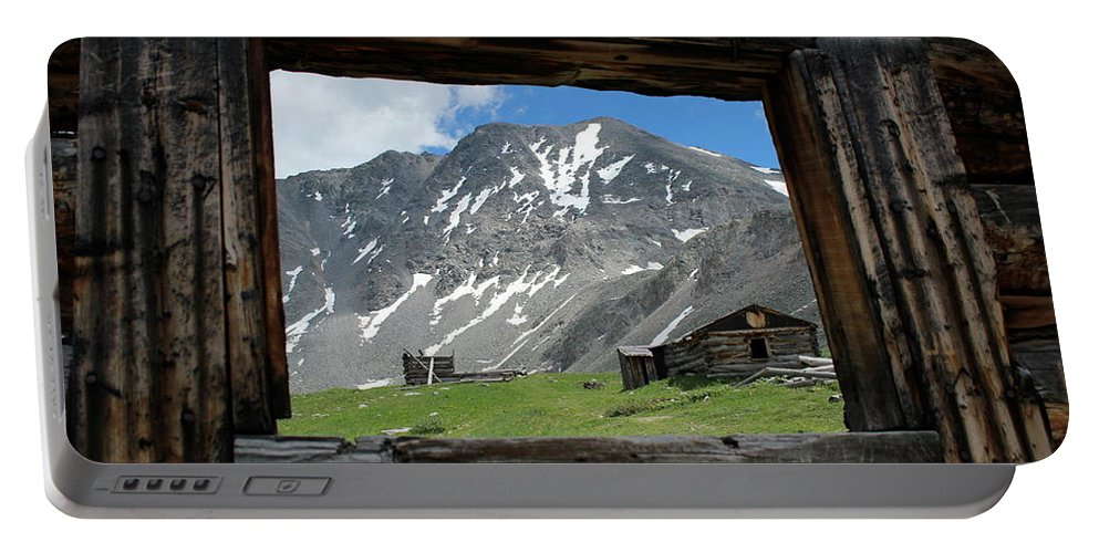 Breathtaking Views Portable Battery Charger featuring the photograph Room With A View by Fiona Kennard