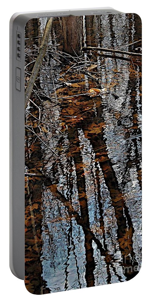 Fall Portable Battery Charger featuring the photograph Rose Lake by Joseph Yarbrough