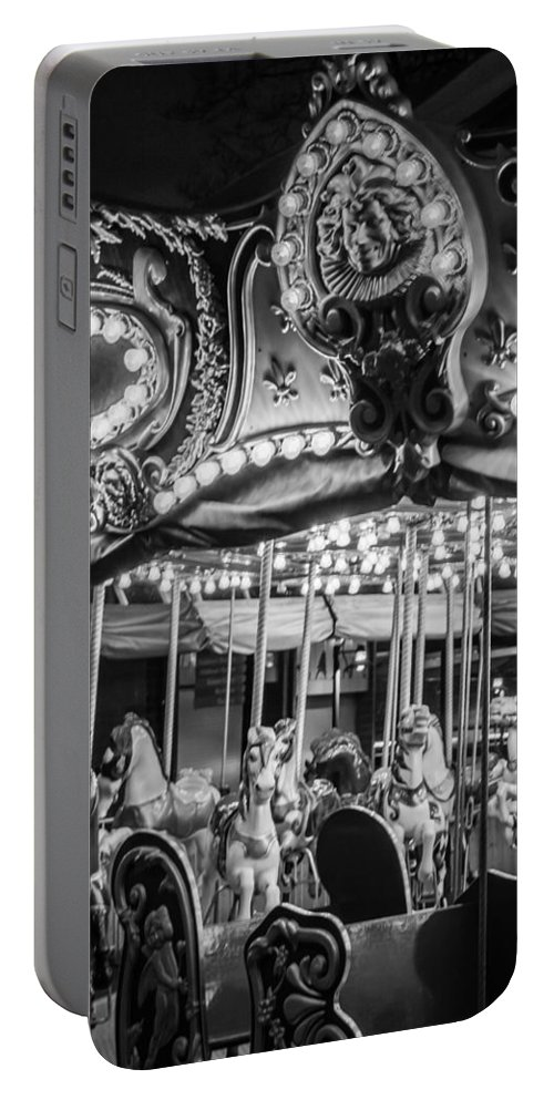 2008 Portable Battery Charger featuring the photograph Round We Go by Melinda Ledsome