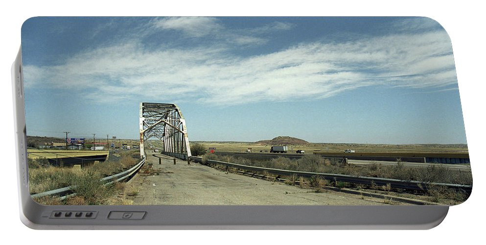 66 Portable Battery Charger featuring the photograph Route 66 Bridge - New Mexico by Frank Romeo