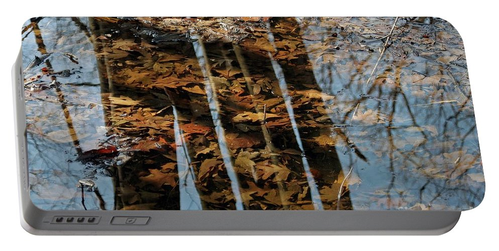 Fall Portable Battery Charger featuring the photograph Rows by Joseph Yarbrough
