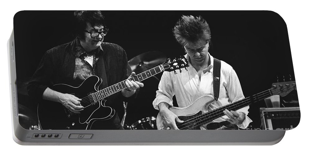 Singer Portable Battery Charger featuring the photograph Roy Orbison by Concert Photos
