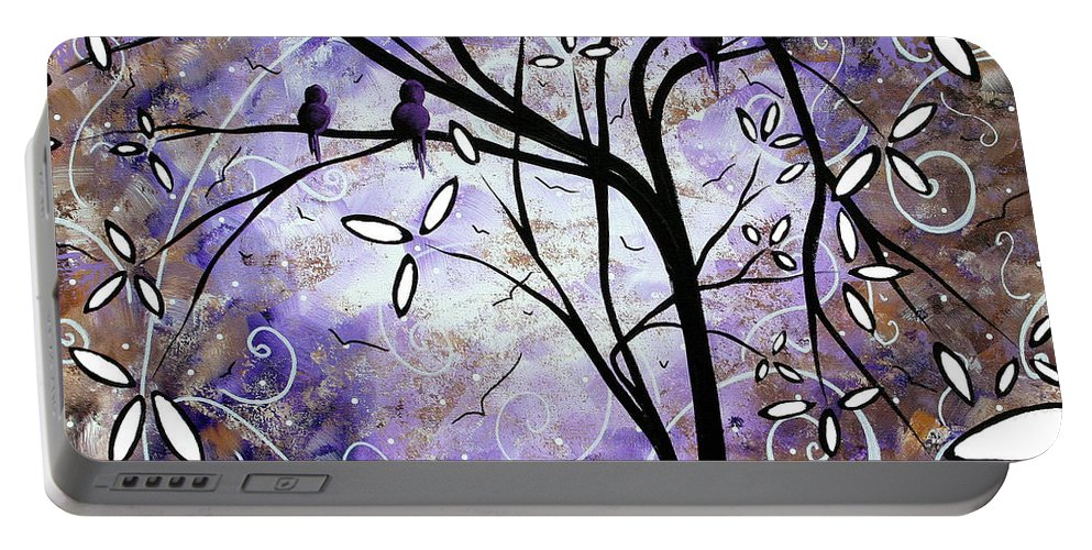 Wall Portable Battery Charger featuring the painting Royalty By Madart by Megan Duncanson