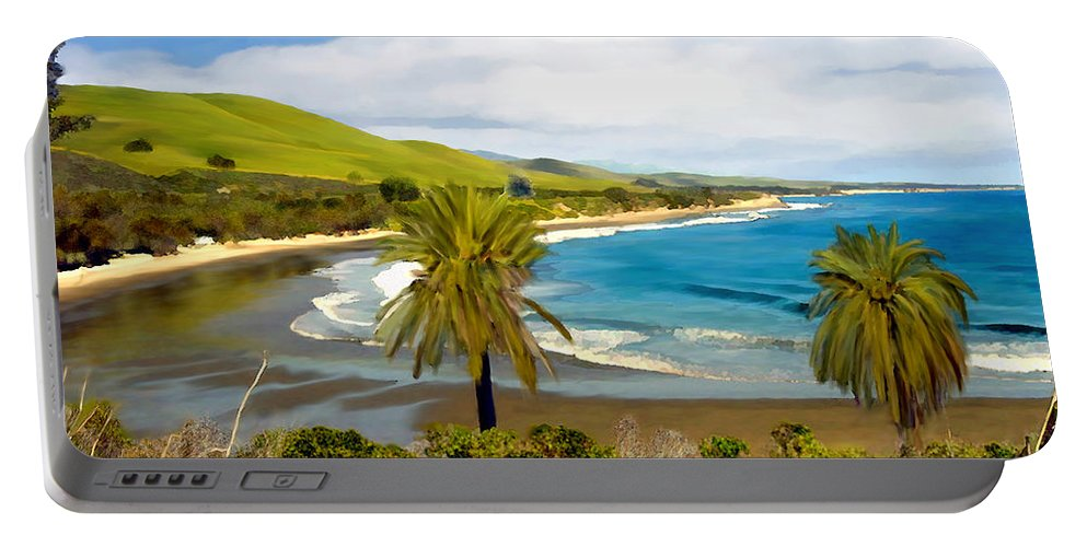 Ocean Portable Battery Charger featuring the photograph Rufugio by Kurt Van Wagner