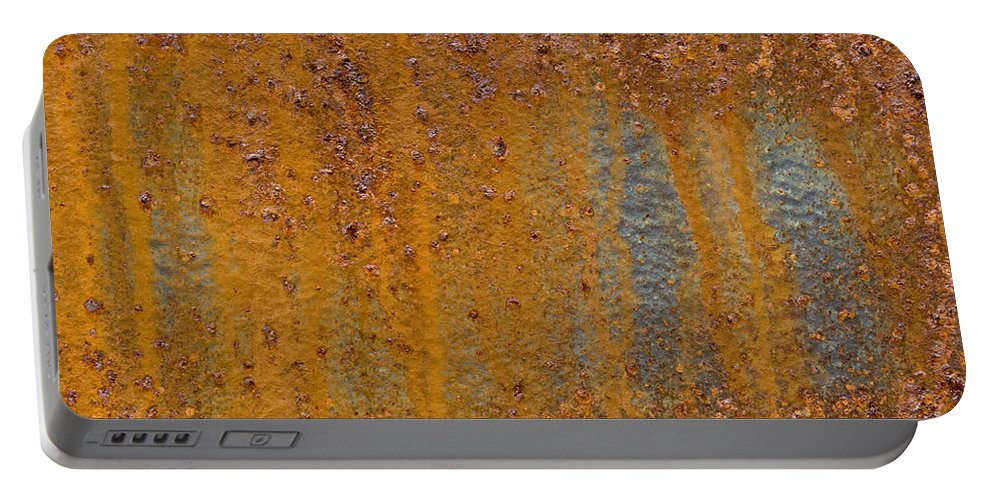 Rust Portable Battery Charger featuring the photograph Rust by John Shaw