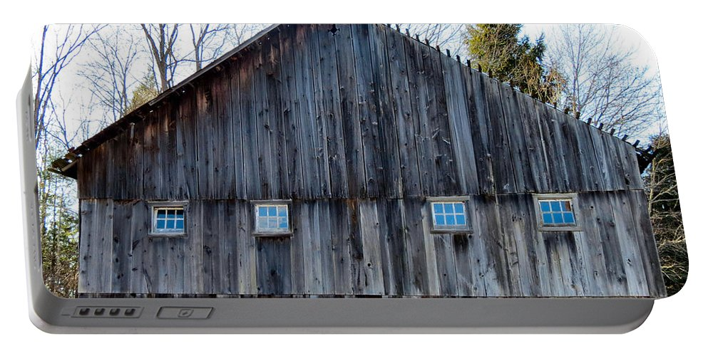 Barn Portable Battery Charger featuring the photograph Rustic Places by Art Dingo
