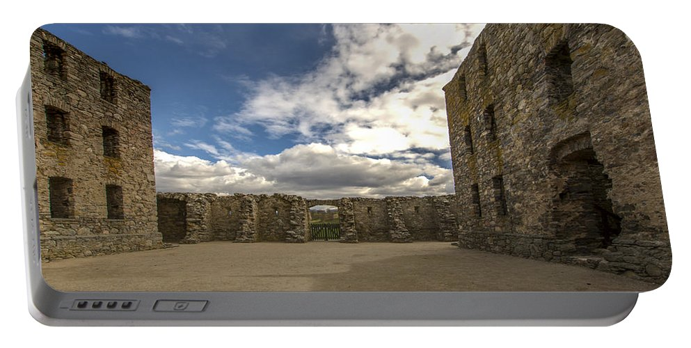 Ruthven Barracks Portable Battery Charger featuring the photograph Ruthven Barracks - 5 by Paul Cannon
