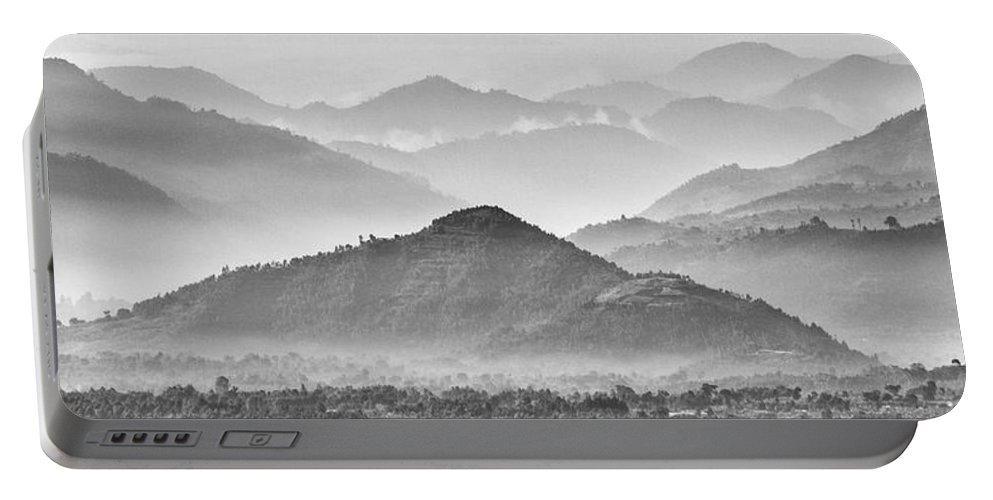 Rwanda Portable Battery Charger featuring the photograph Rwanda Hills by Max Waugh