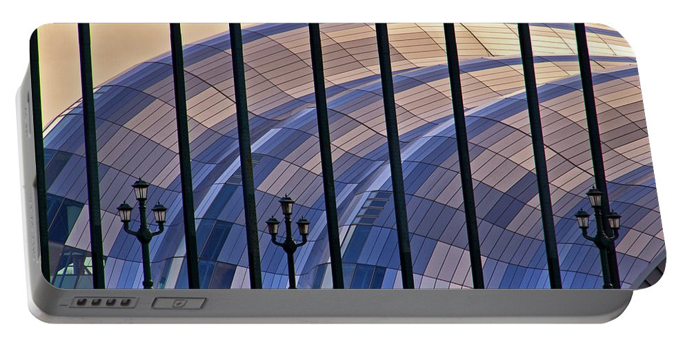 Sage Portable Battery Charger featuring the photograph Sage Gateshead by David Pringle