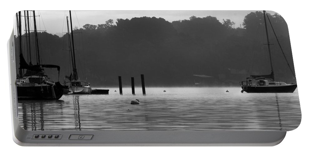Sailboats Portable Battery Charger featuring the photograph Sailboats by Sharon Popek