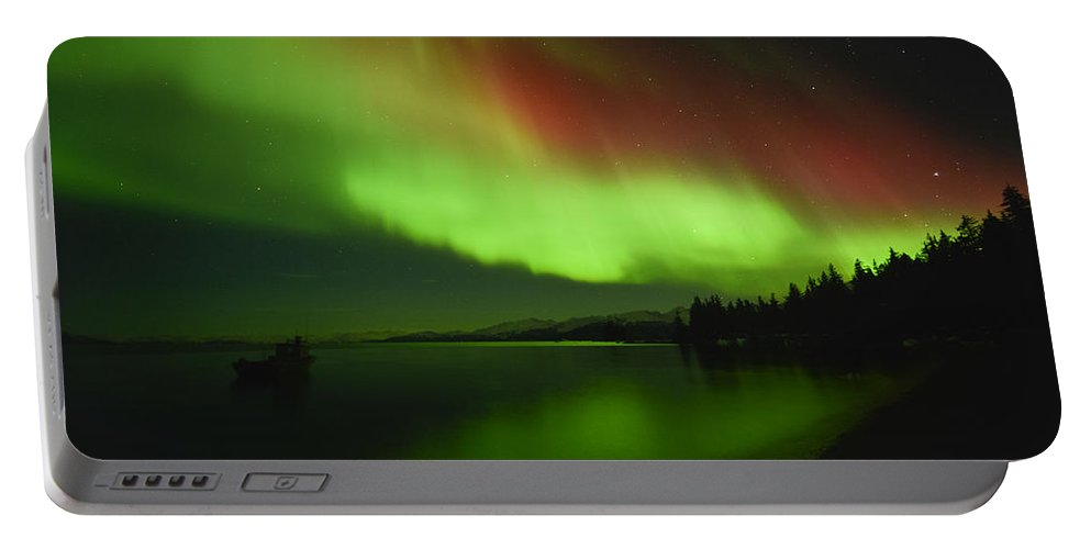 Aurora Portable Battery Charger featuring the photograph Sailors Delight by Ted Raynor