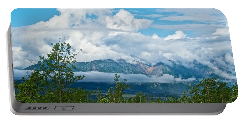 Saint Elias Mountains Portable Battery Charger featuring the photograph Saint Elias Mountains In Kluane National Park-yk by Ruth Hager