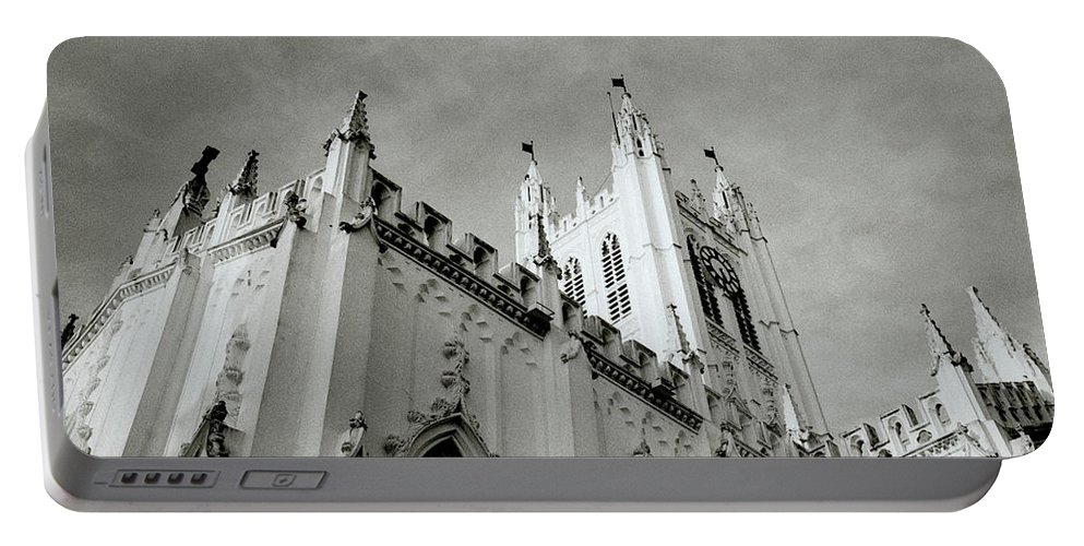 Saint Portable Battery Charger featuring the photograph Saint Paul Cathedral In Cathedral by Shaun Higson