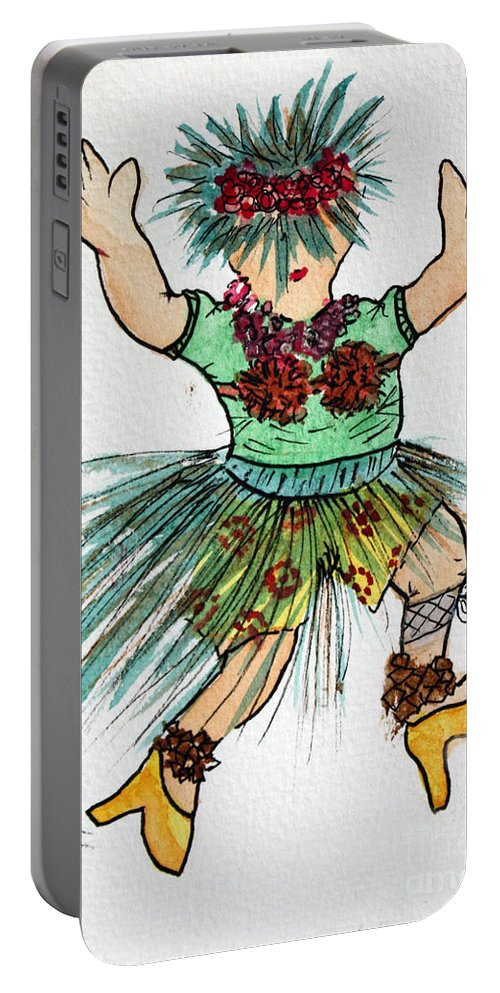 Water Colour Portable Battery Charger featuring the photograph Sales Fairy Dancer 2 by Terri Waters