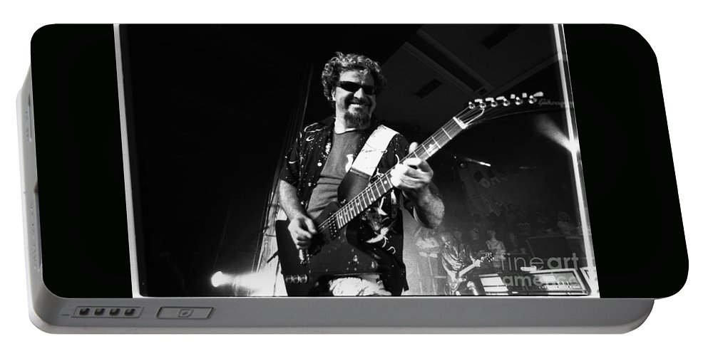 Sammy Hagar Portable Battery Charger featuring the photograph Sammay Hagar-3 11.00 by Timothy Bischoff