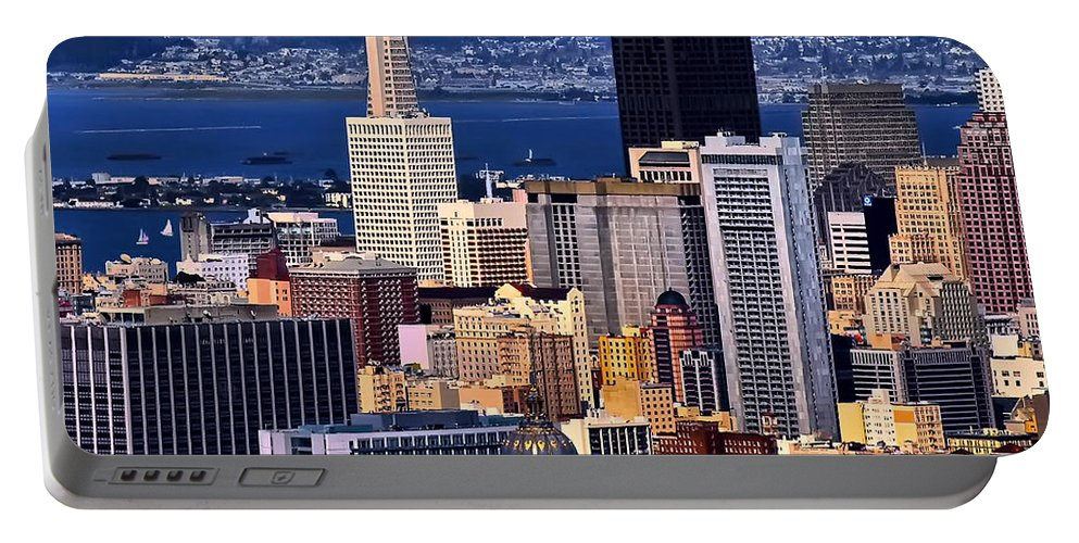 San Francisco Portable Battery Charger featuring the photograph San Francisco by Camille Lopez