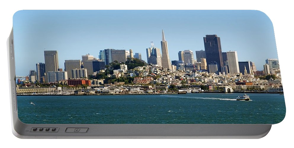 San Francisco Portable Battery Charger featuring the photograph San Francisco Skyline by Kelley King