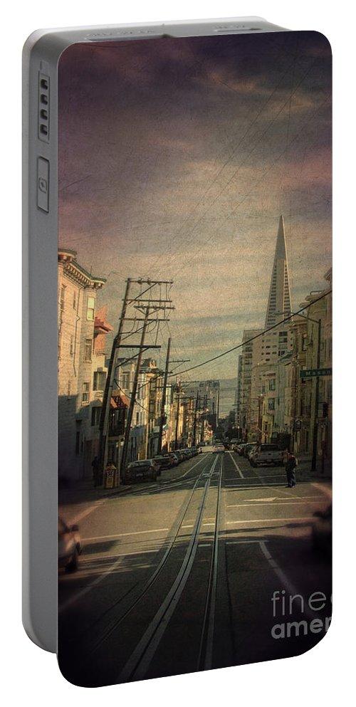 San Francisco Portable Battery Charger featuring the photograph San Francisco Street by Jill Battaglia