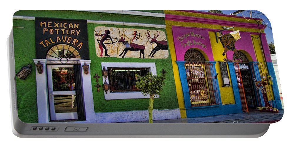 San Jose Del Cabo Portable Battery Charger featuring the photograph San Jose Del Cabo by David Smith