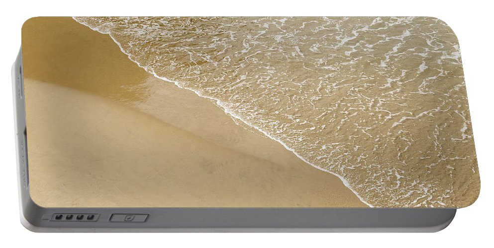 Sea Portable Battery Charger featuring the photograph Sand Beach by Dutourdumonde Photography