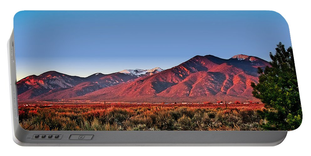 Santa Portable Battery Charger featuring the photograph Sangre De Cristos Xxxi by Charles Muhle