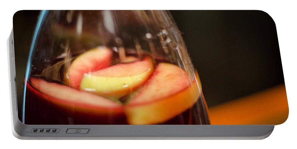 Sangria Portable Battery Charger featuring the photograph Sangria by Pablo Lopez