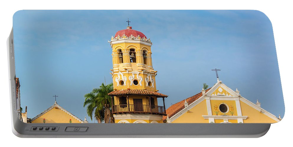 America Portable Battery Charger featuring the photograph Santa Barbara Church by Jess Kraft