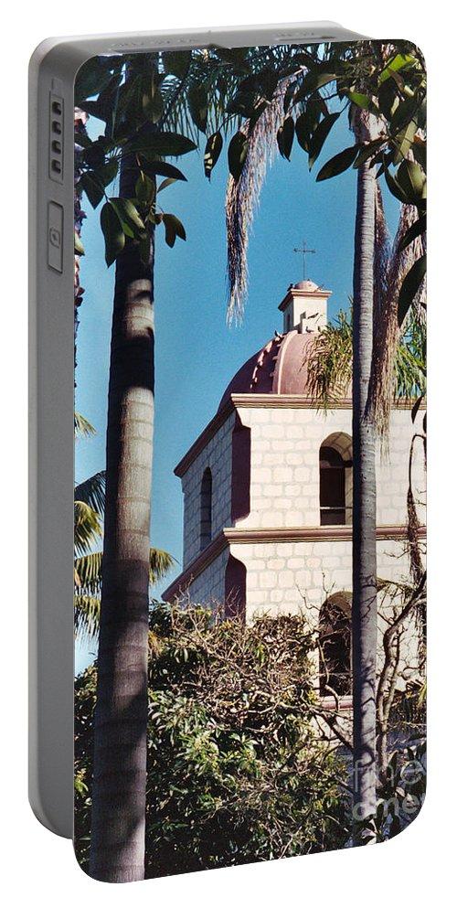 California Portable Battery Charger featuring the photograph Santa Barbara by Flamingo Graphix John Ellis