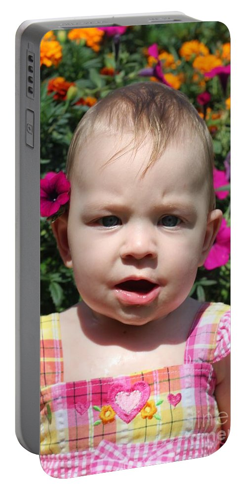Sarah Portable Battery Charger featuring the photograph Sarah_3927 by Joseph Marquis