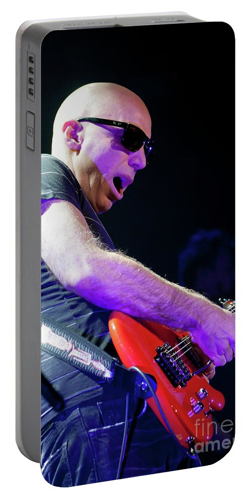 Joe Satriani Portable Battery Charger featuring the photograph Satriani 3117 by Timothy Bischoff