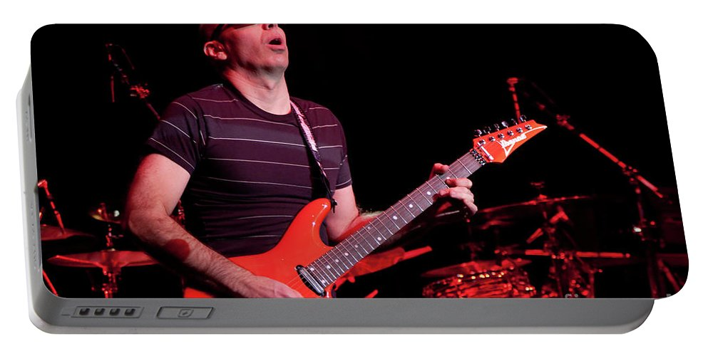 Joe Satriani Portable Battery Charger featuring the photograph Satriani 3235 by Timothy Bischoff