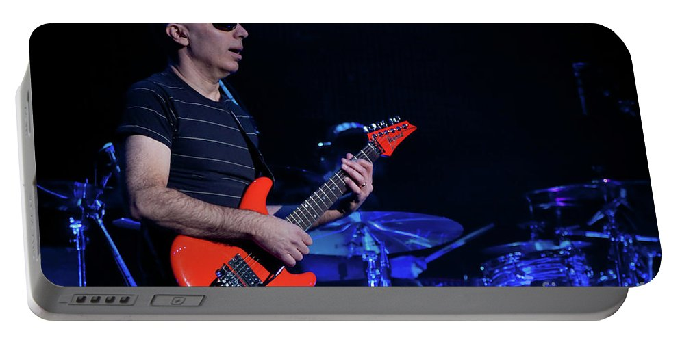 Joe Satriani Portable Battery Charger featuring the photograph Satriani 3368 by Timothy Bischoff