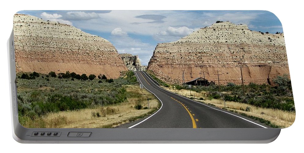 Utah Portable Battery Charger featuring the photograph Utah's Scenic Byway 12 - An All American Road by Sheryl Young