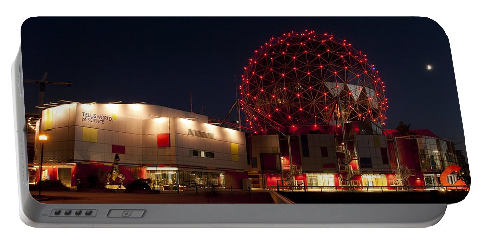 Telus Portable Battery Charger featuring the photograph Science World by Doug Matthews