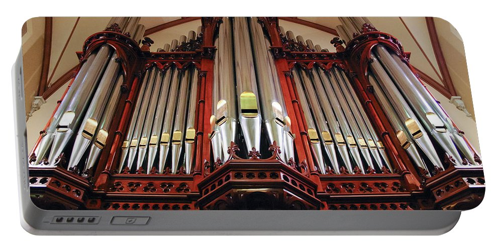 Scots Church Portable Battery Charger featuring the photograph Scots Church Melbourne by Jenny Setchell