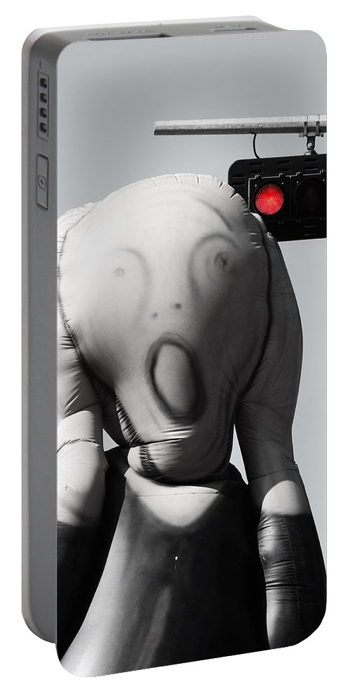 Jerry Cordeiro Photography Portable Battery Charger featuring the photograph Scream Of Accidents by The Artist Project