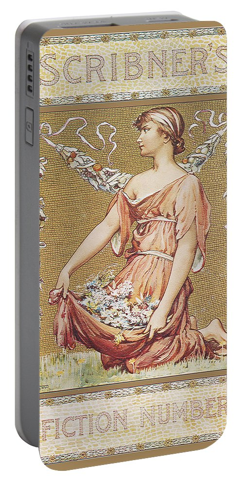 Will Hicok Low Portable Battery Charger featuring the photograph Scribners Fiction Number 1895 by Will Hicok Low