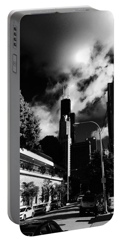 Portable Battery Charger featuring the photograph Sears by Sue Conwell