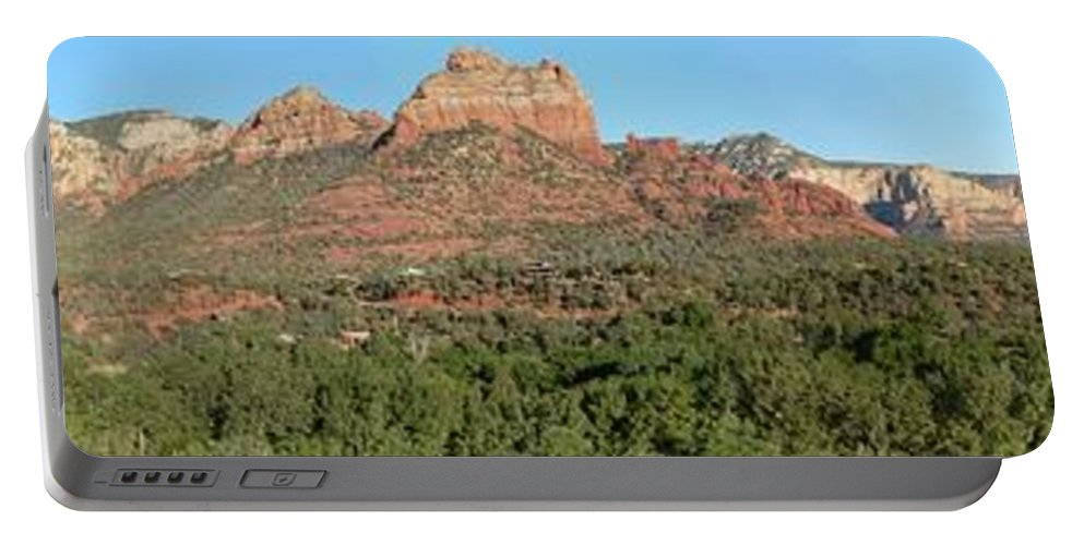Arizona Portable Battery Charger featuring the photograph Sedona by Steve Ondrus