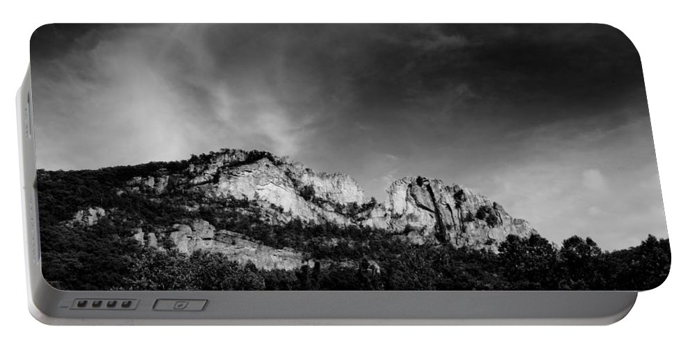 Seneca Rocks Portable Battery Charger featuring the photograph Seneca Rocks by Shane Holsclaw