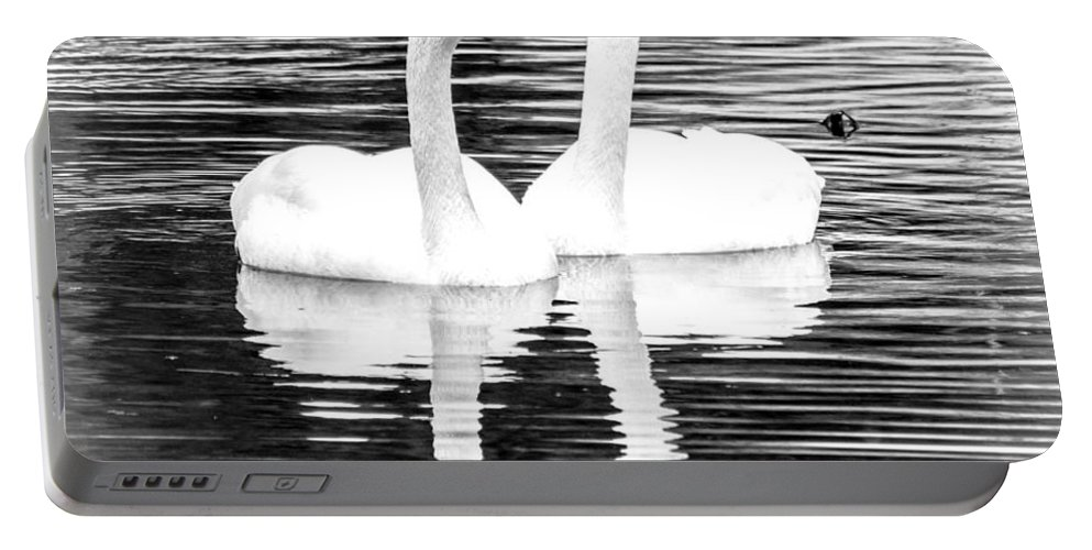 Landscape Portable Battery Charger featuring the photograph Serene Setting by Cheryl Baxter