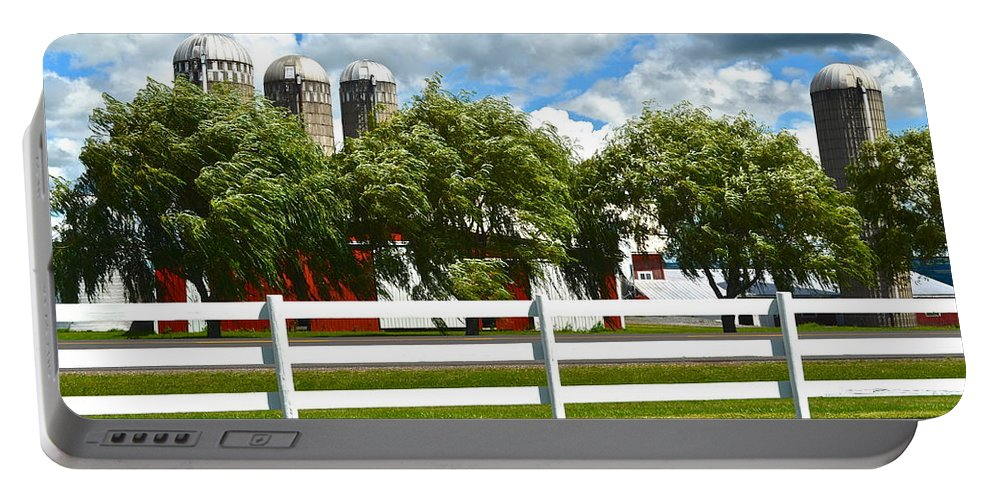 Landscape Portable Battery Charger featuring the photograph Serene Surroundings by Frozen in Time Fine Art Photography