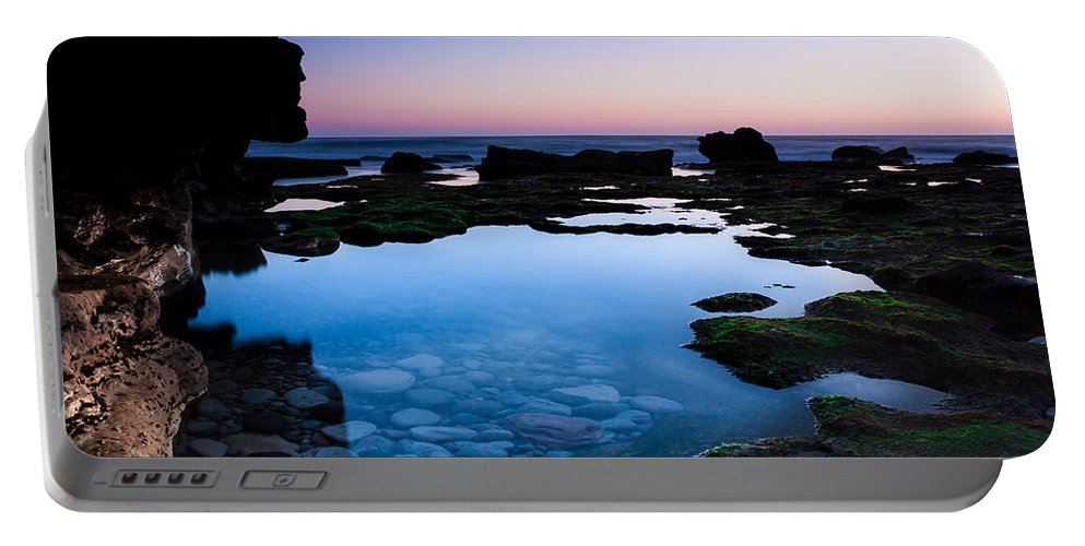 Serenity Portable Battery Charger featuring the photograph Serenity by Edgar Laureano