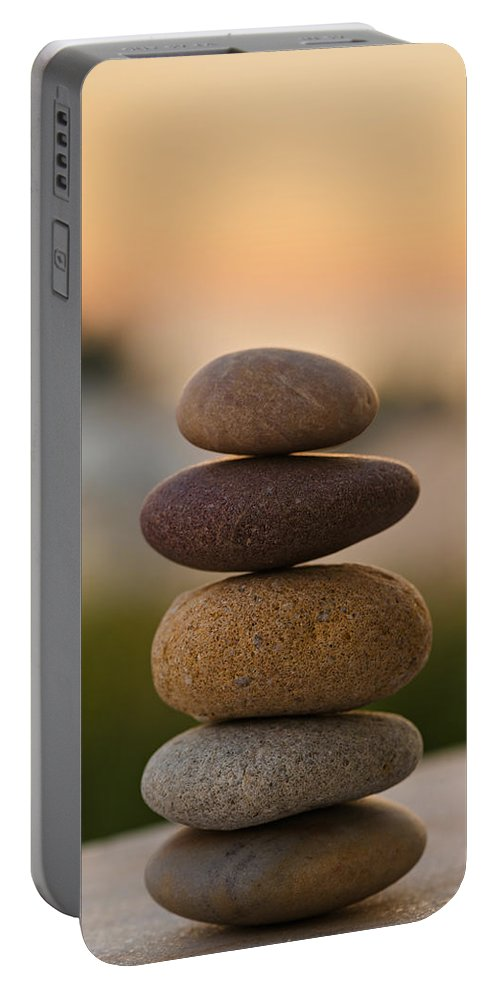 Sunset Portable Battery Charger featuring the photograph Serenity by Marco Oliveira